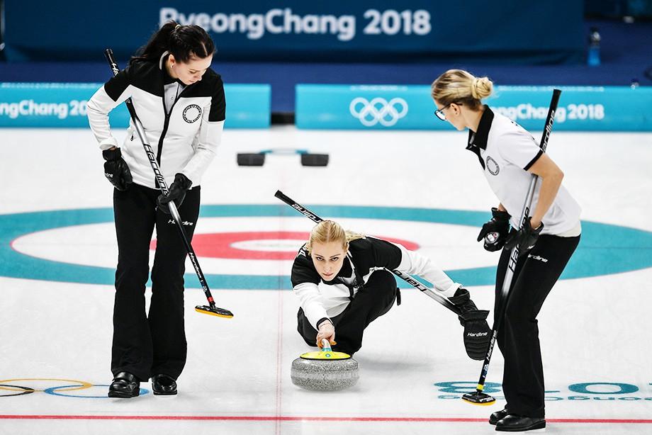 Олимпиада — 2018. Кёрлинг