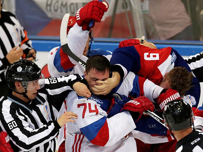 Чехия - Россия - 2:1 Б