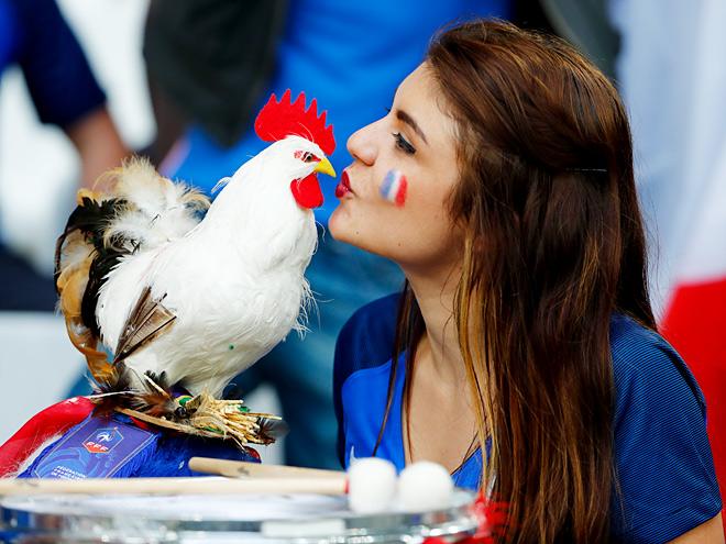 Лучшие фото шестого игрового дня Евро-2016