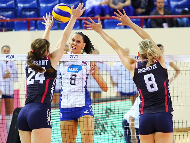 Гран-при: россиянки проиграли сборной США