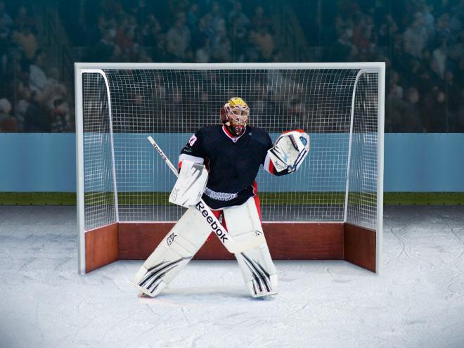 Чиновники перепутали размеры хоккейных ворот