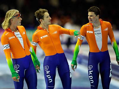 Сборная России по конькам выиграла бронзу