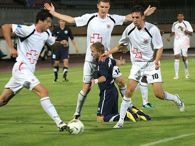 «Ильичёвец» не смог выиграть у «Волыни» в Мариуполе