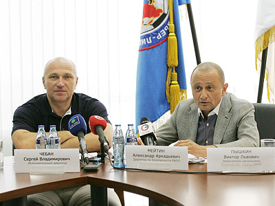 Сергей Чебан и Александр Мейтин