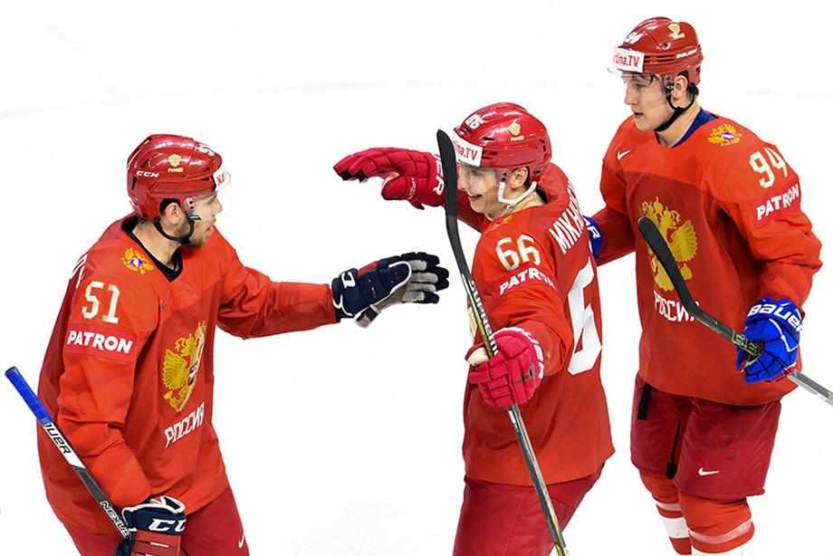 ЧМ — 2018 по хоккею