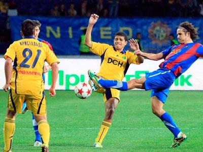 Киевский «Арсенал» на своём поле обыграл харьковский «Металлист»