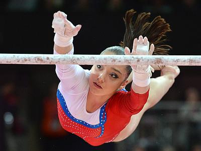 Лондон-2012. Спортивная гимнастика. Алия Мустафина