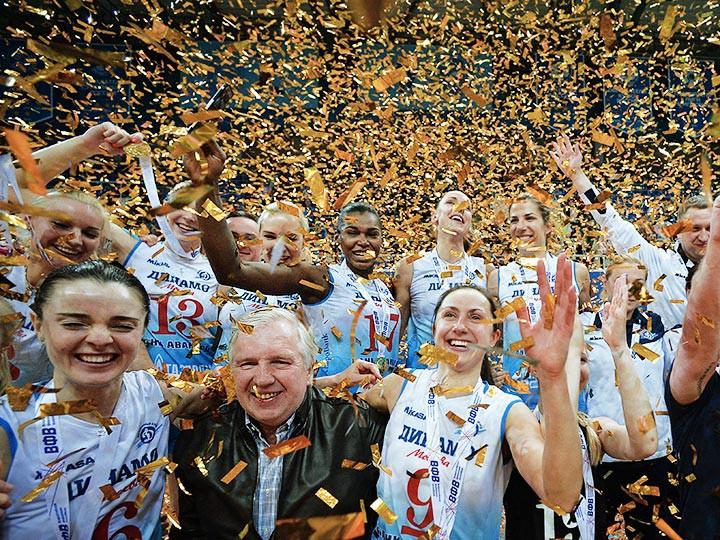 «Динамо» Москва стало чемпионом России среди женщи