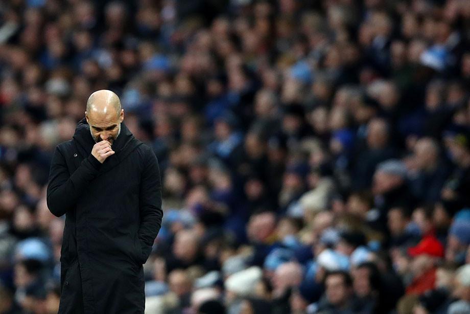 Гвардиола: «Манчестер Сити» неможет соперничать с«Ливерпулем»