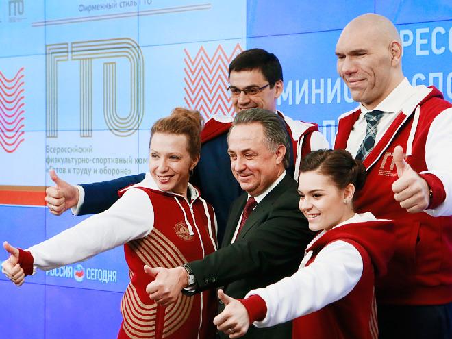 Нормативы ГТО для российских знаменитостей