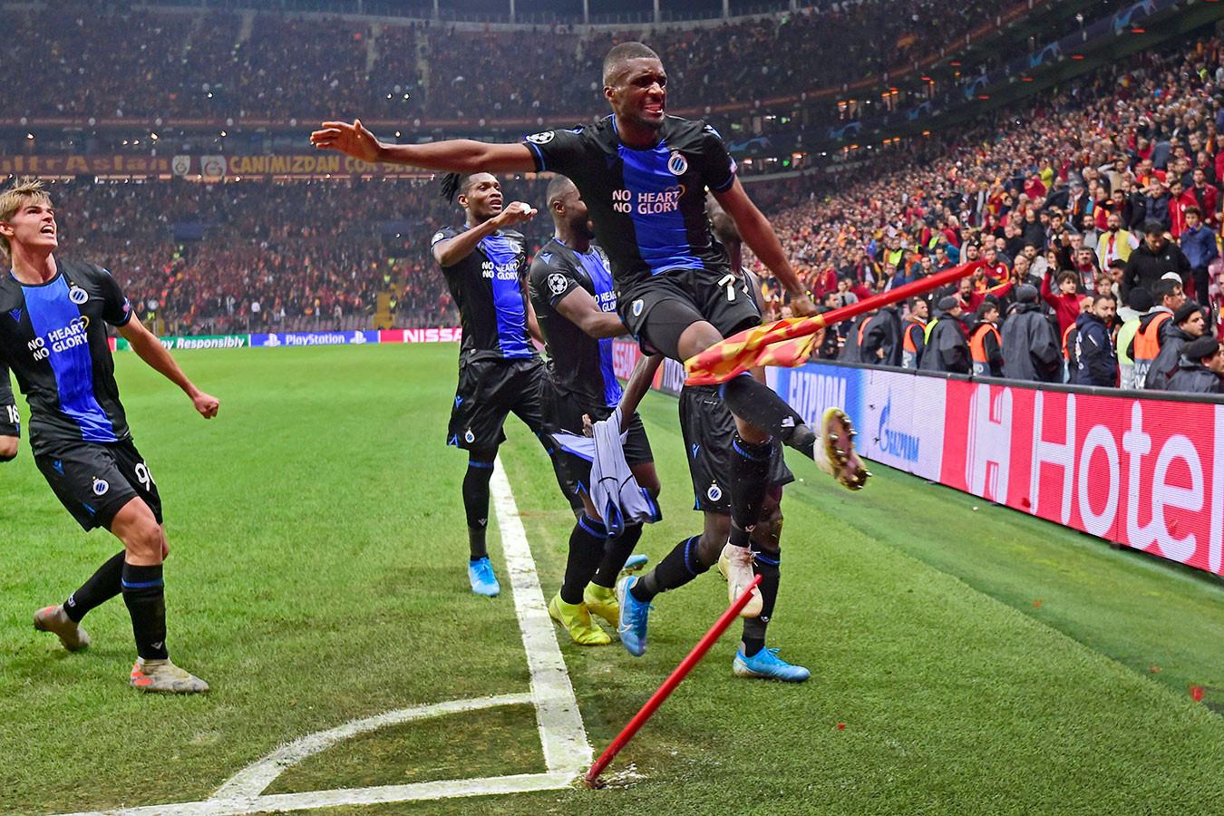 Манчестер юнайтед англия брюгге бельгия 3 1