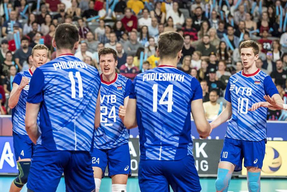 Волейбольная сборная России стала третьей в основном этапе Лиги наций