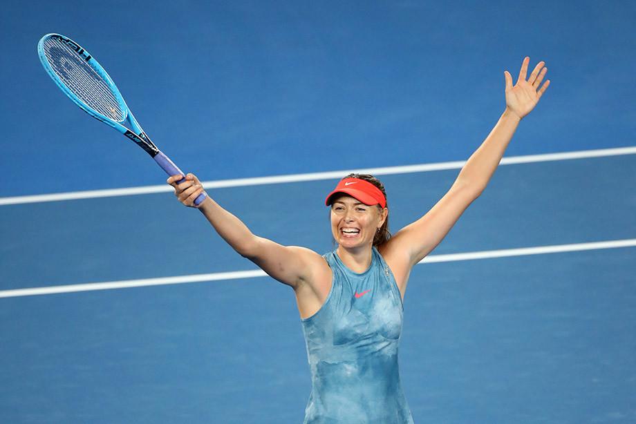 Шарапова на коне! Мария взяла верх над чемпионкой Australian Open в супербитве