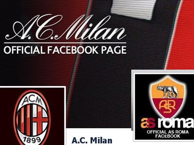 """Как """"Рома"""" и """"Милан"""" работают с социальными медиа"""