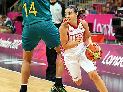 Лондон 2012. Баскетбол. Бекки Хэммон