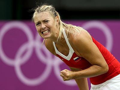 Лондон 2012. Теннис. Мария Шарапова