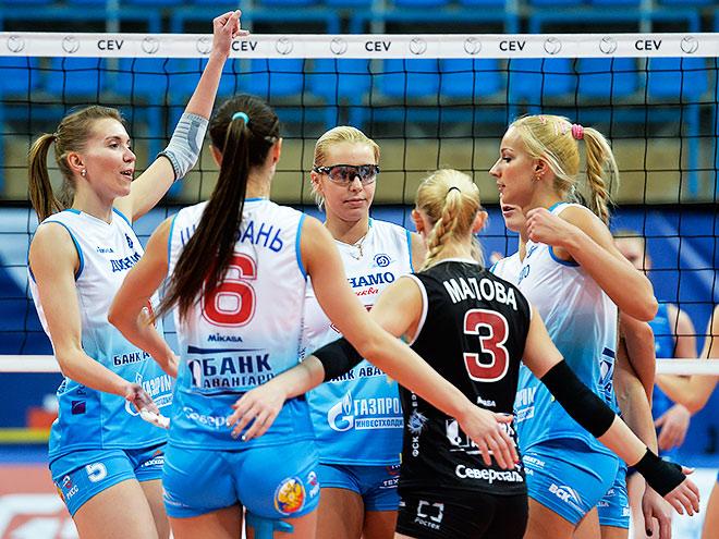 В рамках ЛЧ москвички одержали четвёртую победу