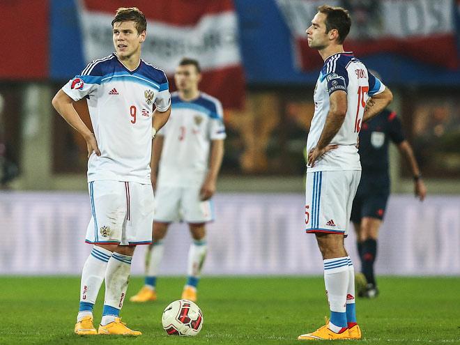Бышовец обеспокоен рейтингом сборной России