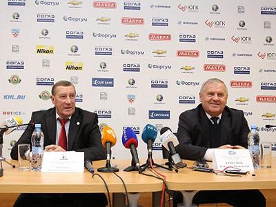Пресс-конференция после второго матча в Челябинске