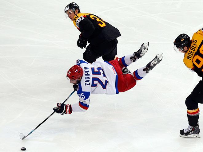 Пять последних матчей между сборными России и Германии на ЧМ