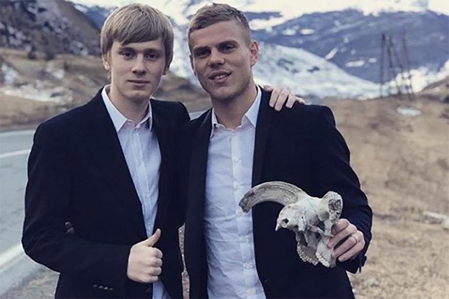 Kirill and Alexander Cocorina