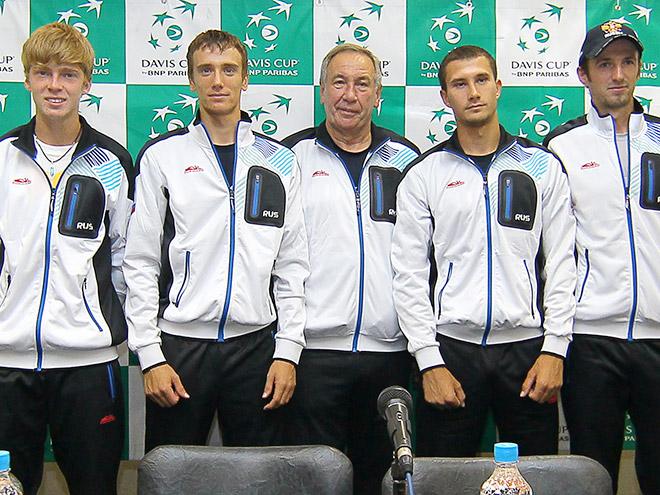 Пресс-конференции команд России и Португалии