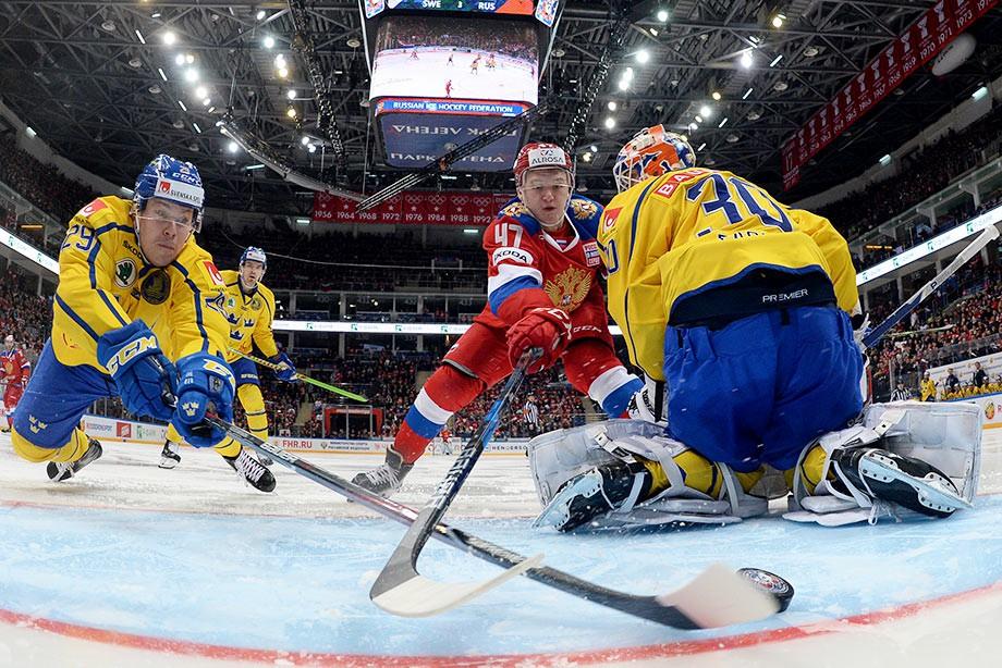 Кирилл Капризов против сборной Швеции
