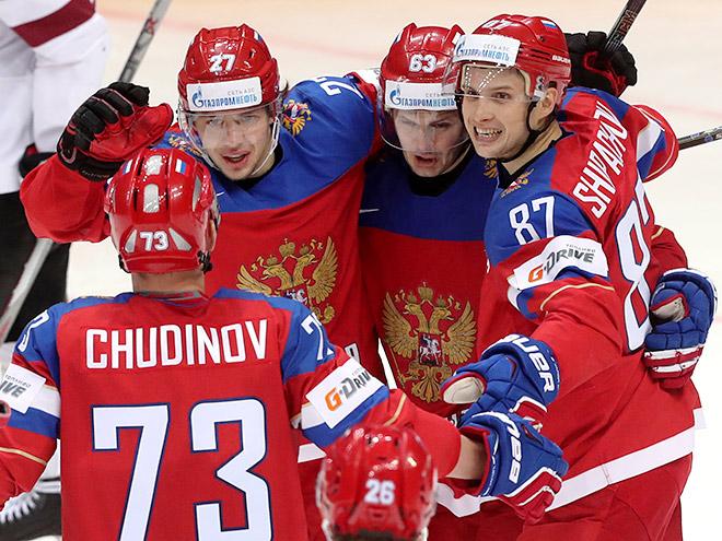 ЧМ-2016. Россия – Латвия – 4:0. 9 мая 2016-го. Отчёт матча, фото, видео