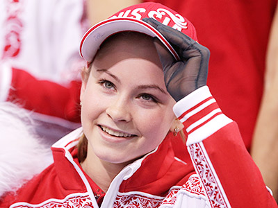 Олимпийская чемпионка Юлия Лепницкая
