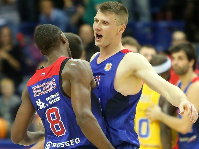 ЦСКА выиграл 11 из 14 матчей в Евролиге в сезоне-2015/16