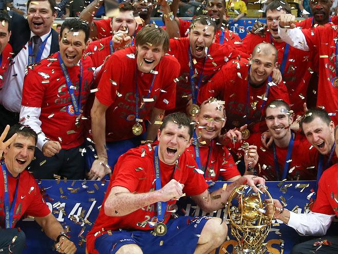 ЦСКА выиграл финальную серию Лиги ВТБ