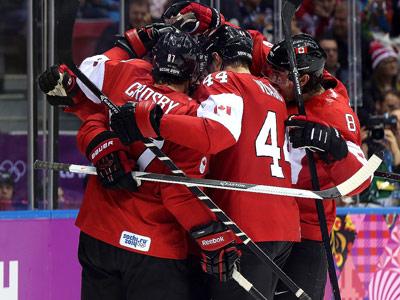 Сочи-2014. Хоккей. Финал. Швеция - Канада - 0:3