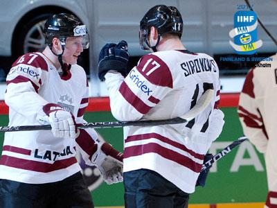 Латвия одержала первую победу, а Россия – вторую