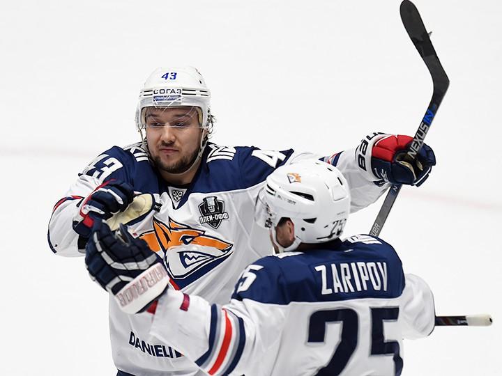 Магнитогорский «Металлург» добрался дополуфинала Кубка Гагарина