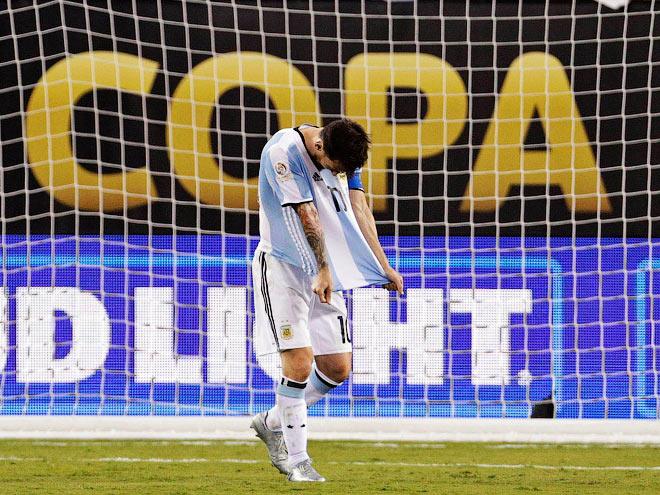Месси завершил карьеру в сборной Аргентины