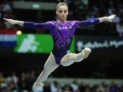 Итоги чемпионата России по спортивной гимнастике среди женщин