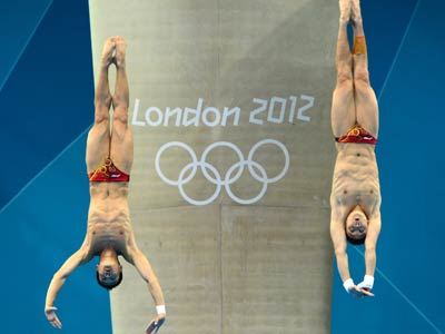 Лондон-2012. Прыжки в воду. Второе золото Китая