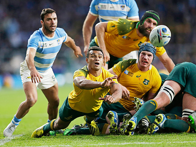 Регби. Кубок мира. Австралия – Аргентина – 29:15