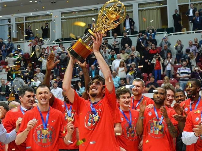 ЦСКА победил УНИКС со счётом 3-1 в финальной серии Лиги ВТБ
