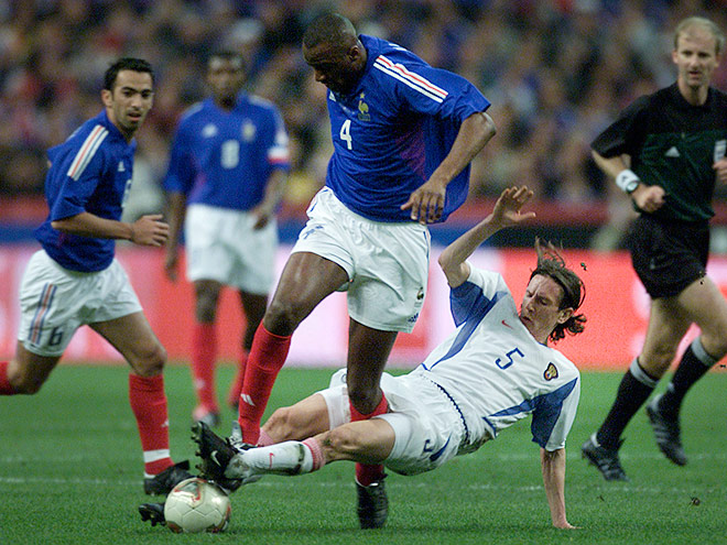 1999 год. Франция — Россия — 2:3
