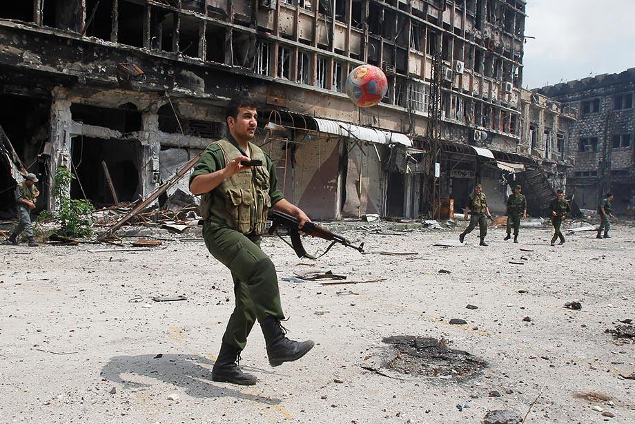 Сирия сыграла вничью сАвстралией вотборочном матчеЧМ