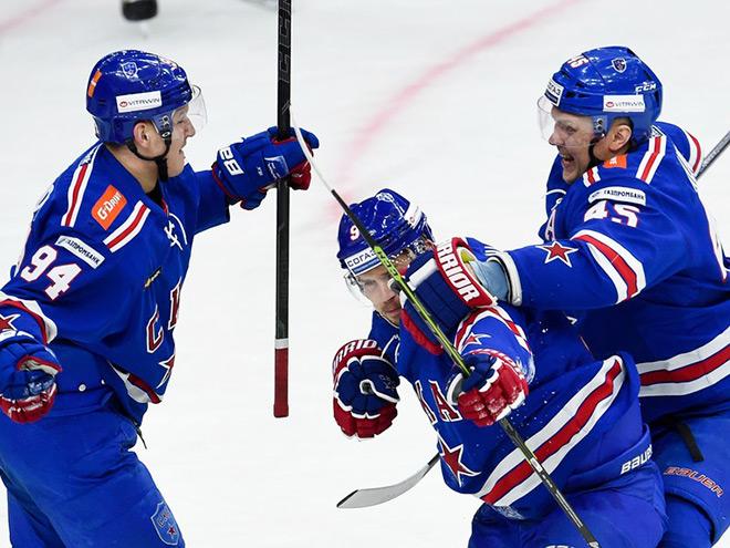 КХЛ. Плей-офф. СКА – «Локомотив» – 3:0