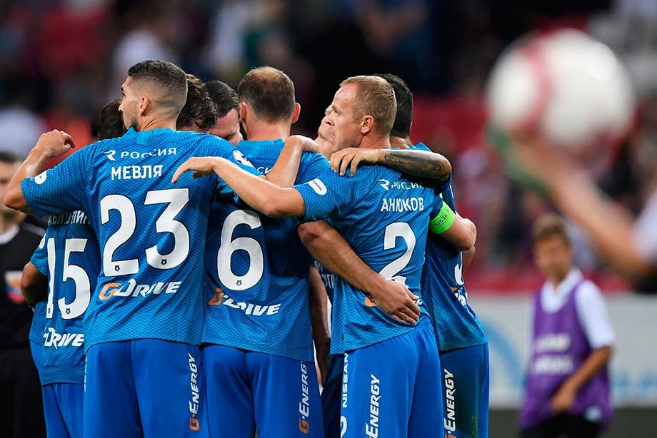«Зенит» стал вторым клубом вистории, отыгравшимся после поражения 0:4