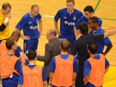 Мини-футбольный клуб «Динамо» одержал вторую победу в Кубке УЕФА