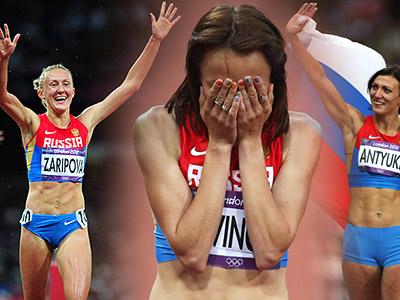 Мария Савинова и ее тренер Владимир Казарин