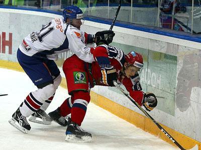 В Ярославле сборная России победила сборную Словакии