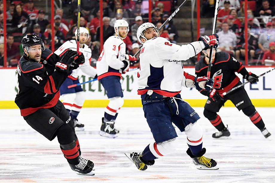 «Вашингтон» может присоединиться к «Тампе». Что творится в плей-офф НХЛ
