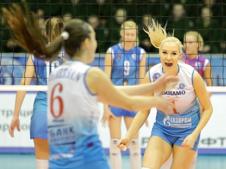 Волейбол. Шансы на «Плей-офф шести» остались только у московского «Динамо»