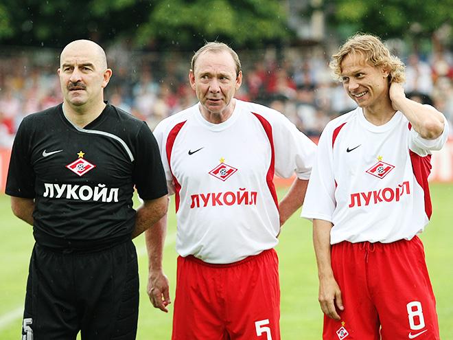 Станислав Черчесов, Олег Романцев и Валерий Карпин