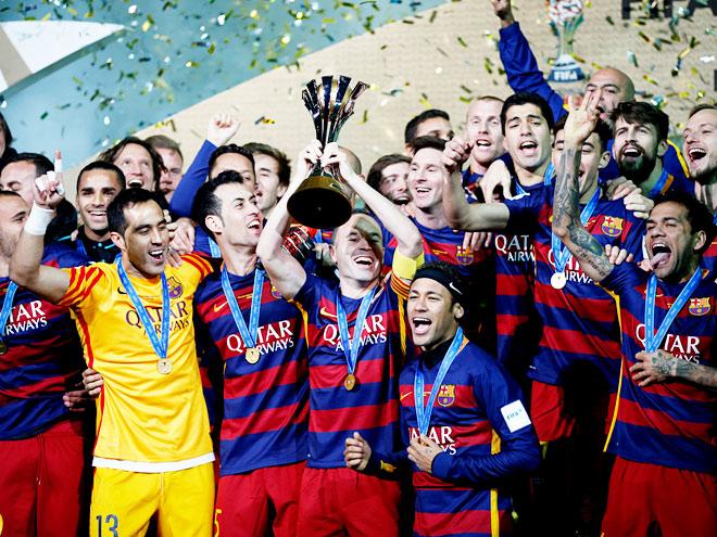 10 главных событий выходных: «Барселона» - чемпион мира, достижение «Реала»